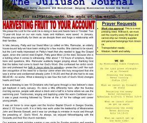 Read more...SOS Ministries January-February 2017 Prayer Letter