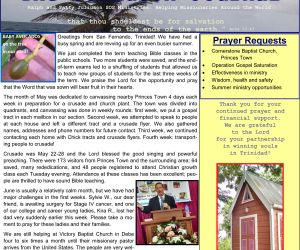 Read more...SOS Ministries May-June 2017 Prayer Letter